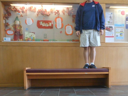 Bench Monday: Library Edition