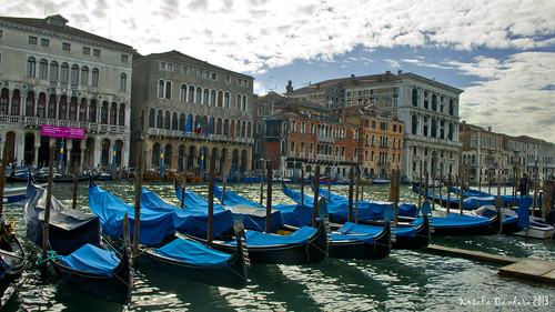 Venice gondolas by kBandara, on Flickr
