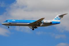 Fokker 100 KLM Cityhopper (KLC) PH-OFN - MSN 11477 - Now in Qeshm Air fleet as EP-FQJ (Luccio.errera) Tags: air 100 msn klm fleet now tls fokker qeshm klc cityhopper 11477 phofn epfqj