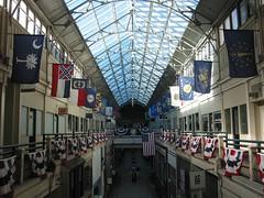 The Nashville Arcade has a glass ceiling (DieselDucy) Tags: old mall nashville tennessee elevator 2013 nashvillearcade