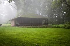 Wyalusing state park pavilion