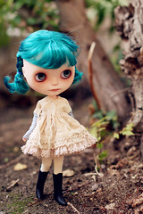 Otus, the blue hair Vainilladolly girl