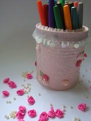 Porta lápis (Arte da Luz) Tags: decoração presente portalápis