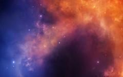 Pink-Blue-Galxy-Stars (GurshobitBrar) Tags: blue red galaxy planets newworlds