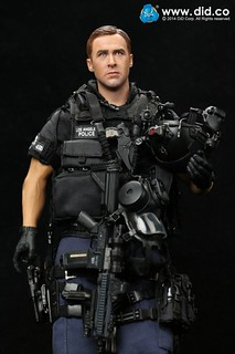"DID - 1/6 LAPD S.W.A.T ASSAULTER 突擊班 代號""Driver"""