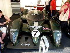 Lobster (BenGPhotos) Tags: 2003 green sports car festival race speed fast 8 racing prototype winner endurance fos lemans v8 bentley goodwood motorsport gtp 2013 0045