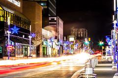King Street Blur (Matt M S) Tags: city cambridge urban ontario canada matt downtown king metro smith kitchener waterloo area region metropolitan core kw southwestern tricities mattsmith kitchenerwaterloo downtownkitchener kitchenerontario waterlooregion kitchenerdowntown dtklove kwontario