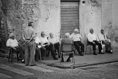 Fixing the World - Discutere su come trovare una soluzione ai problemi del mondo2 Butera - Sicily (Gaetano Scollo) Tags: street city people italy photography italia village gente sicilia citta anziani paesi tradizioni