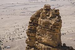 Mazamiyah Formations (Sarfraz Abbasi [0.75 million views, Thanks]) Tags: fuji desert rocky saudi arabia photowalk fujifilm outback mm wilderness 1855 riyadh outskirts  shutterbugs  xe2         xe2 1855   photowalk