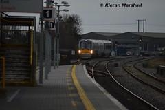 22017 arrives into Portlaoise, 8/3/14 (hurricanemk1c) Tags: irish train rail railway trains railways irishrail rok rotem 2014 portlaoise icr iarnród 22000 22017 éireann iarnródéireann 4pce 0950mallowheustonrelief