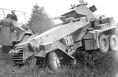 "German heavy armored car Sdkfz. 231 • <a style=""font-size:0.8em;"" href=""http://www.flickr.com/photos/81723459@N04/13183782525/"" target=""_blank"">View on Flickr</a>"