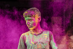 Holi @ Sowcarpet | Chennai (dinesh.I) Tags: street city travel india colors festival nikon happiness streetlife chennai holi tamilnadu southindia d800 cwc festivalofcolors nikon50mm sowcarpet chennaiweekendclickers dineshi dineshbabui din3shphotography dineshphotography dineshiphotography