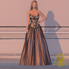 {Meghindo's} ~ Black Rose ~ Black Lace Gown ~ (Meghindo) Tags: new dress collection gown 2014 meghindo