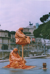 Rè de Roma (Anis Saraci) Tags: roma mc 55mm m42 fujica fujinon panjabi 2014 st701 f118 fujinon55mmf18