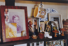 layers of memory (the incredible how (intermitten.t)) Tags: art film photos 1999 domestic 1998 nan shelves pentaxmx pasma 21253 colekitchen