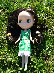 Lizbeth in the sun.