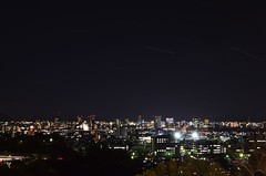 /Stars on the ground (koludabone49) Tags: city light sky japan night landscape star spring nikon  nightsky nightview      interval       d5100