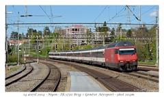 Re 460 - Nyon (CC72080) Tags: train sbb locomotive nyon cff re460 interrégio
