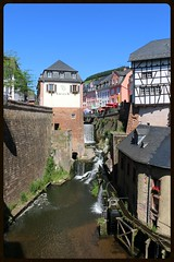 Saarburg (Rheinland-Pfalz, Deutschland) (p_jp55 (Jean-Paul)) Tags: germany deutschland waterfall wasserfall cascade allemagne rheinlandpfalz leuk saarburg leukbach