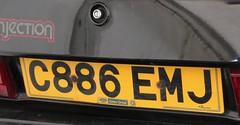 C886 EMJ (2) (Nivek.Old.Gold) Tags: ford capri special aca 28 1985 injection gatesgroup