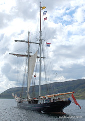 05-07-15 076 (Strathkanchris) Tags: scotland tallship ullapool westerross sailingboat rhue lochbroom wildswan ullapoolharbour wyldeswan