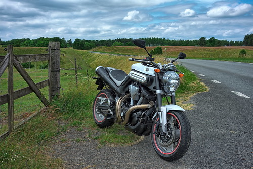 Yamaha MT01 in Sweden