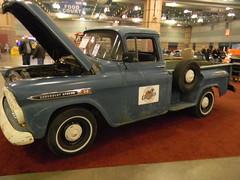 nice chevy truck (billedgar8322) Tags: atlantic city car show 2017 ac2017 bill edgar indoor chevy chevrolet rat rod engine motor tailgate 1958 1959 1957 tires rims