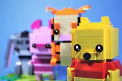 09_Close_up (bbchai) Tags: winnie pooh tiger piglet eeyore lego brickheadz block head disney moc