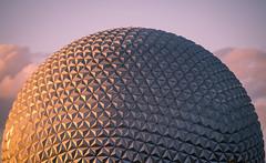 Spaceship Earth (II) (Jack Landau) Tags: epcot walt disney world spaceship earth geodesic dome geometry architecture orlando florida geometric building sky