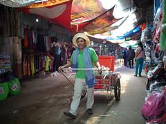 market seller (Matt Jones (Krasang)) Tags: chongchommarket thailand voigtlander175mm f095 cart alley vendor