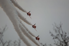 Disappearing Act (CWT-Photography) Tags: winter training display practice redarrows red arrows raf military royalairforce disappear aircraft aviation amazing brilliant love photography nikon gopro