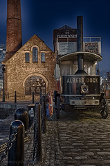 Thornycroft Omnibus (johnshirley59) Tags: hdr liverpool albert dock longexposure nighttime steam powered omnibus transport heritage road car
