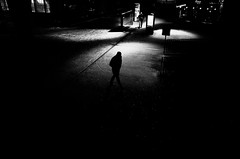 Night Owls (Ivan Rigamonti) Tags: monochrome streetphotography night citylights