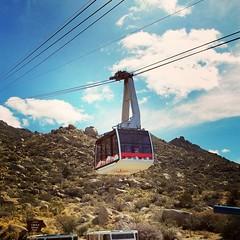 Sandia Tram in Albuquerque, NM (honestys_easy) Tags: nm newmexico santafe museumhill sculpture arthistory albuquerque sandiapeak sandiapark tram mountain