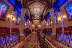 Fairytale Hall Fisheye (Disney_Nuts) Tags: wdw waltdisneyworld fisheye magickingdom