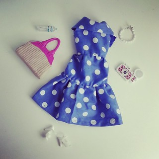 Look do dia Barbie. Vestido by dona Dolores♡