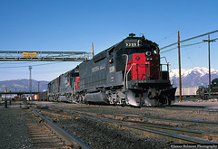 Big EMD 45 Series Motors (jamesbelmont) Tags: sp sd40t2 utah slc roper railroad train