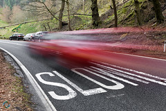 87/365 Slow ([inFocus]) Tags: canon 2470mmf28lii 2470mm 5d 5dmkiv 365 3652017 project365 creative movement imagination sign road pennines peakdistrict snakepass words playonwords