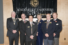 Academy of Engineers Class of 2013 (UIdahoENGR) Tags: collegeofengineering studentunionbuilding academyofengineers deanlarrystauffer