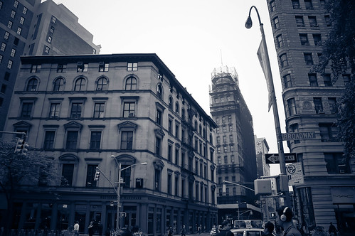 Buildings Adjacent to the Flatiron Building, NYC