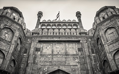 The Red Fort (Photography by Kunal Khurana) Tags: old red india architecture sandstone fort delhi lal qila mughal