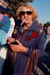 Fells Point Festival 1993 (A CASUAL PHOTGRAPHER) Tags: portraits women smoking fellspointfunfestival