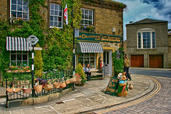 (#2.061) The Dalesman Cafe, Gargrave (unicorn 81) Tags: uk greatbritain england house building shop architecture cafe europe sweet unitedkingdom britain yorkshire gb shops architektur british candystore northyorkshire tearooms ukmap gargrave dalesman grosbritannien
