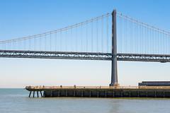 Bay Bridge (sirgious) Tags: sanfrancisco bridge bay pier baybridge