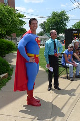P1020575 (chicagopublicmedia) Tags: superman celebration metropolis coverage wbez