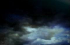 Ciel d'effroi (bleumarie) Tags: nikon noir bleu ciel nuage roussillon obscur tempte peur catalogne pyrnesorientales suddelafrance thuir cielcouvert bleumarie mariebousquet nikonsd3100 photomariebousquet