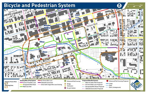 Photo - Bike and Pedestrian System Map