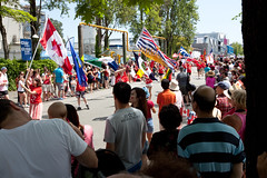 Parade of Flags (Nick, Programmerman) Tags: flags parade canadaday 1635 5dii