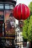 Red, not miserable (michael_hamburg69) Tags: uk greatbritain red rot london lamp chinatown unitedkingdom balloon lantern laterne lampion streetview lesmisérables grosbritannien chinesischelaterne