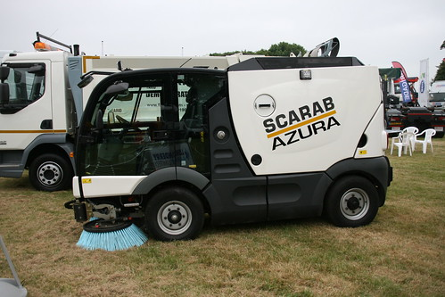 Scarab Azura Hire | Compact Sweeper Hire | Munihire Limited